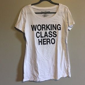 Urban Outfitters Tops - John Lennon (The Beatles) Working Class Hero shirt
