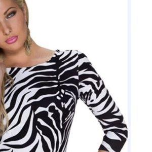 The Limited Zebra Print sweater