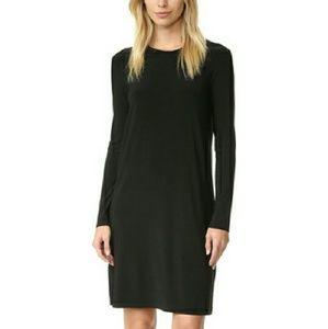 Norma Kamali Dresses & Skirts - Kamali Kulture Go Crew Neck Dress Long Sleeve XL