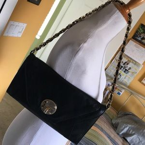 Elliott Lucca Handbags - Elliot Lucca black leather clutch/purse.