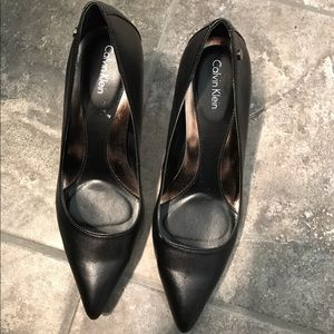 Calvin Klein black heels FLASH SALE