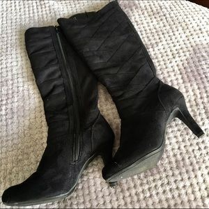 Sbicca Shoes - Black Suede Boots