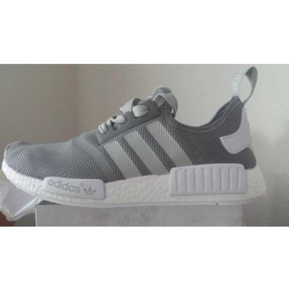 le adidas nmd gray donne 95 poshmark