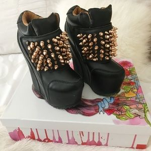 Jeffrey Campbell Shoes - Jeffrey Campbell - Dramo Spikes