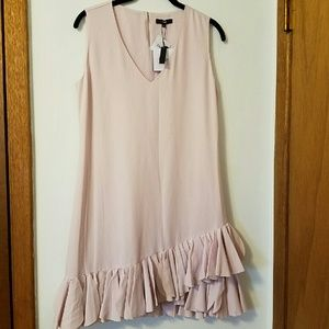 ELOGY Dresses & Skirts - Pink Ruffled Hem Dress
