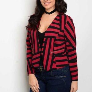 Jackets & Blazers - Cute flirty plus size blazer!!