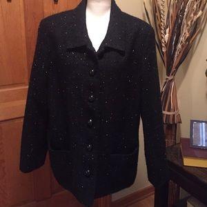 Koret Jackets & Blazers - GORGEOUS black KORET Blazer