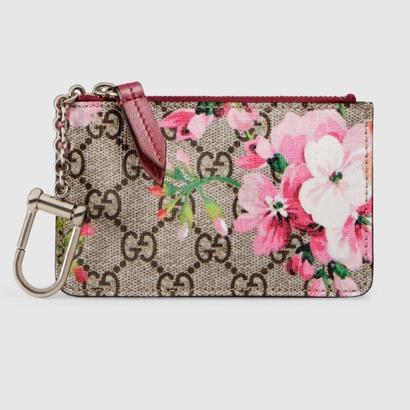 8a3fadc0392 BRAND NEW GUCCI GG BLOOMS KEY CASE