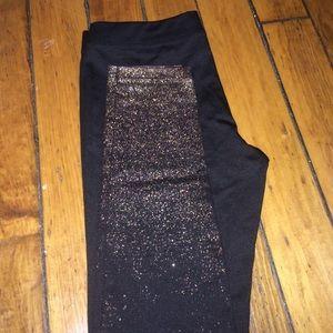 Hot Sox Pants - NWOT Hotsox Glitter Leggings