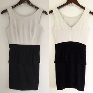 grass collection Dresses & Skirts - Grass Collection White and Black Dress Size 3