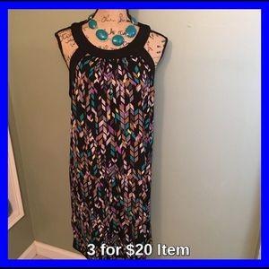 Attention Dresses & Skirts - Attention Geometric Dress