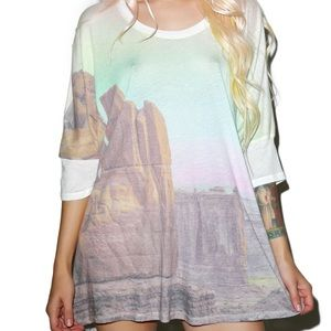 Wildfox Couture Tops - Canyon Sunset Sunny Morning Tee