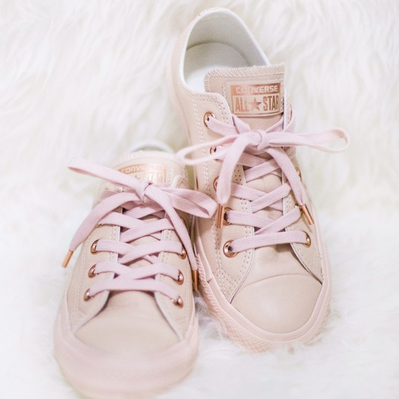 converse rose gold edition