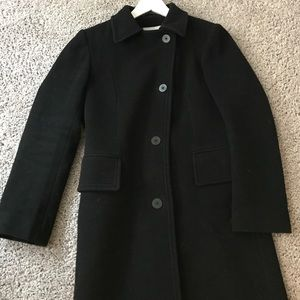 Virgin wool and cashmere coat from London