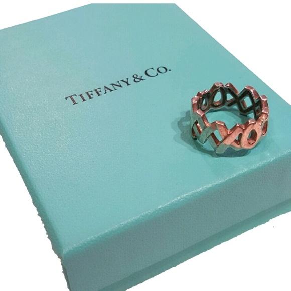 1ba0508b8 Authentic Tiffany & Co. Paloma Picasso XXXooo ring.  M_59731310981829782401eb2b