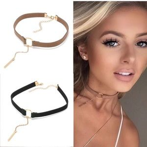 🌟SALE🌟💟Bar and Circle Chokers💟