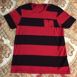 Guess Other - Vintage Guess Striped Short Sleeve Shirt
