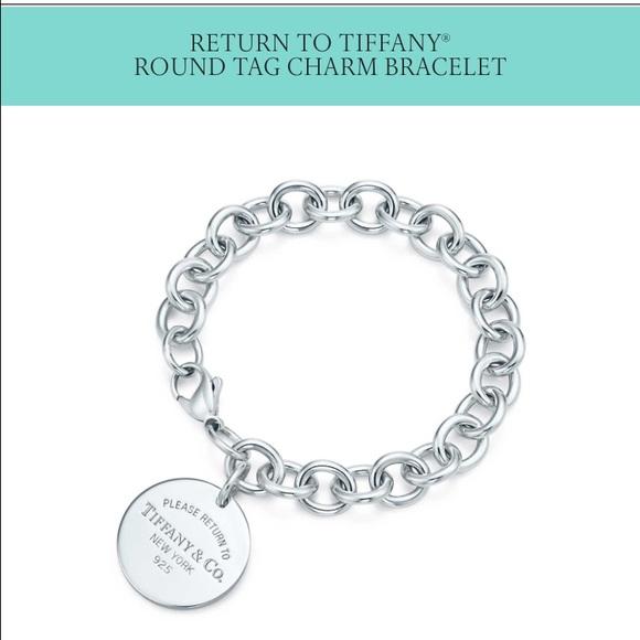 d816ef75a Tiffany & Co. Jewelry | Tiffany Circle Tag Bracelet | Poshmark