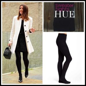 HUE Accessories - ❗1-HOUR SALE❗BLACK SWEATER TIGHTS