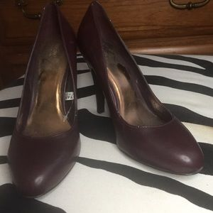 Plum color heels