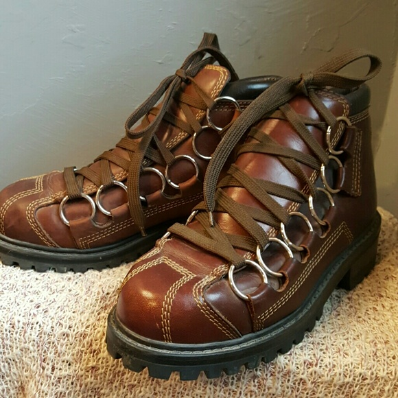 1fa17b08065 Brown Leather Ring GBX Boots