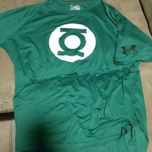 Under Armour Other - Men's Under Armour Green Lantern shirt