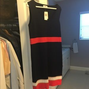 Carmen Marc Valvo knit dress