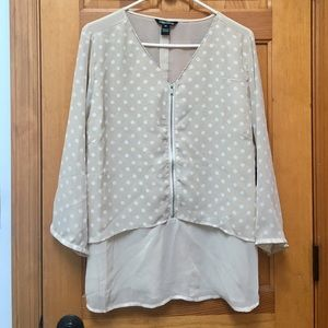 NWT Polka Dot Top