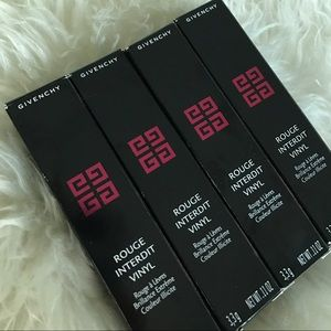 Givenchy Other - NEW: 4 GIVENCHY lipsticks- never used