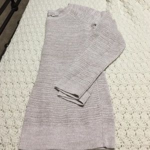 Loft oatmeal color sweater