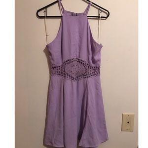 Lilac Cutout Dress