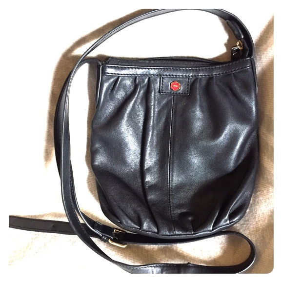 Lodis Handbags - 👝LODIS BLACK LEATHER CROSS BODY BAG👝