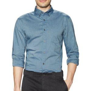 John Varvatos Other - John Varvatos Blue Striped Dress Shirt