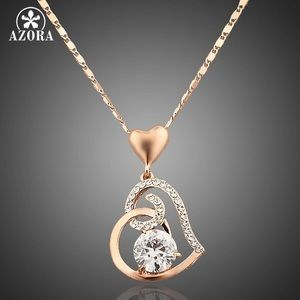 Women's Rose Valentines Day Necklace