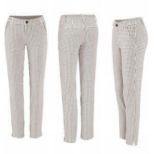 CAbi Pants - CAbi size 8 windowpane trousers.