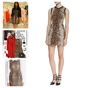 RED Valentino Dresses & Skirts - NWT RED Valentino Heart-Leopard-Print Dress