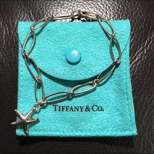 Tiffany & Co. Jewelry - authentic Tiffany & Co starfish bracelet silver