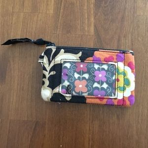 Vera Bradley Handbags - Vera Bradley ID Zip in Suzani print