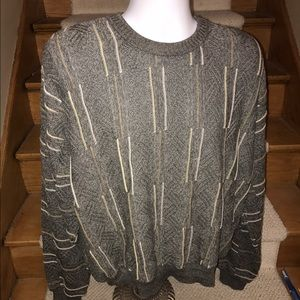Tundra Other - TUNDRA textured stunning mens soft sweater - M