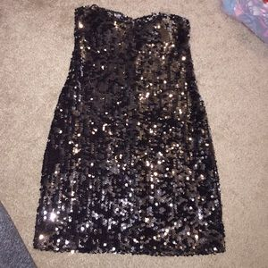 As U Wish Dresses & Skirts - HOST PICK ❤ 3/5 Black sequin mini dress