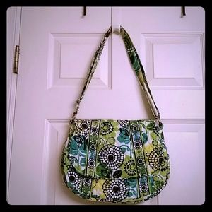 Vera Bradley Limes Up Saddle Cross Body