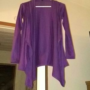Rags and Couture Sweaters - Rags and couture plum cardigan NWOT