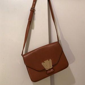 Henri Bendel Accordion Gusset Crossbody Bag