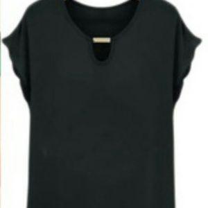 Tops - Asymmetrical Chiffon blouse