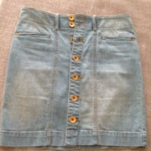 Armani exchange jeans skirt