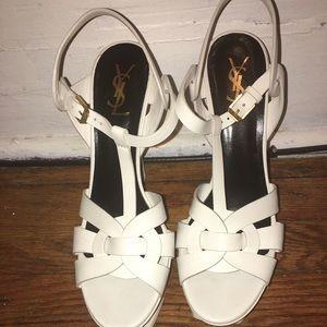 Yves Saint Laurent Shoes - YSL Tribute Strappy Sandal heels pumps 40.5/10.5