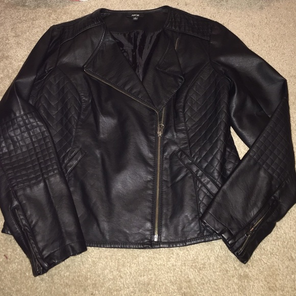 Apt 9 leather jacket