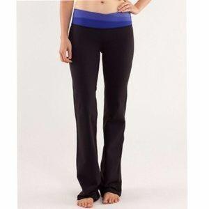 lululemon athletica Pants - Lululemon Astro Yoga Pants Wide Leg size 8