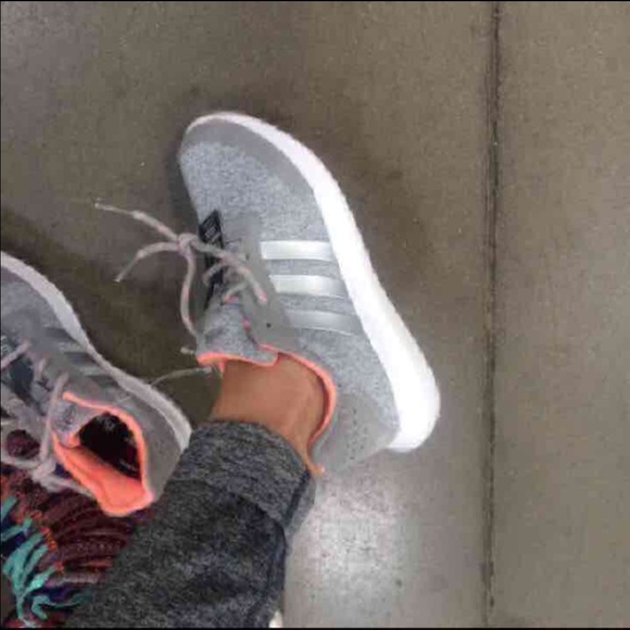grey adidas womens shoes