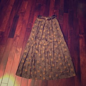 Vintage long Maxi skirt